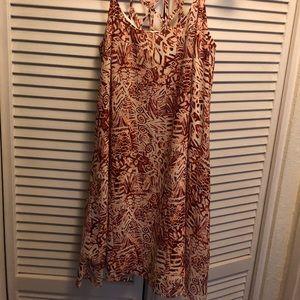 Tribal print short dress